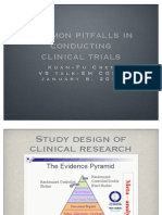 Common Pitfalls in Clinical Trials_010511