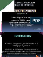 Exposicion de tecnicas Hashing (Hash)