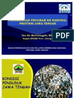 Pengelolaan Program KB Di Jateng