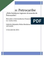 Ensayo petrocaribe