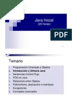 Curso Java Inicial - 2 Introduccin Java