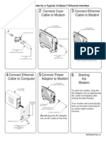 Ethernet Quick Install Page