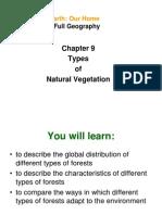 Chapter 9 Types of Natural Vegetation