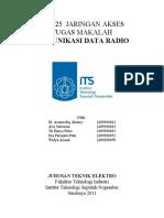 Komunikasi Data Dengan Radio Jaringan ITS Surabaya