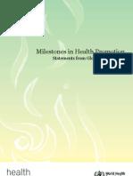 Milestones Health Promotion 05022010