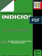 LA ESCENA DEL HECHO. INDICIOS A2 V1. CRIMINALISTICA