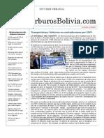 Hidrocarburos Bolivia Informe Semanal Del 02 Al 08 Mayo 2011
