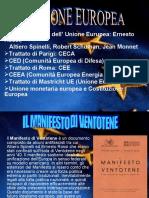 Nascita Dell' Unione Europea ( Classe 2d i.t.i.s Enrico Mattei Urbino