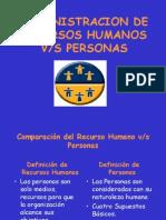 Adm d Recursos Humanos vs Prsonas