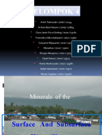 Mineral of Surface and Subsurface Water System