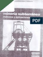 Mineria Subterranea-Metodos 1 de 4