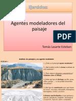 Agentes modeladores del paisaje (PDF)