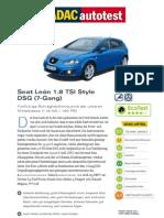 Seat Leon 18 TSI Style DSG 7 Gang