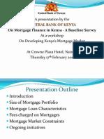 Mortgage Study Survey Presentation Cbk