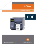 Datamax I Class User Manual