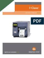Datamax I Class User Manual