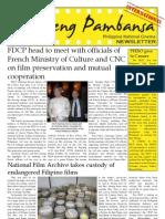 Film Development Council of the Philippines Newsletter (International)