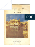 An introduction to Sikh belief by Mrs. P. M. Wylam