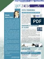 Boletín Informativo Acquajet News nº 1