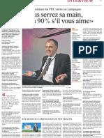 Le Matin Dimanche - 8 mai 2011 - Interview