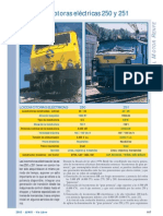 Fichas Material Motor Renfe 250 251