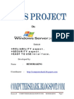 Windows Server 2003 Security, Reliability, User Internet