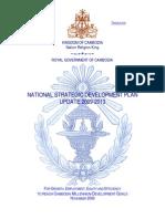 National Strategic Development Plan (NSDP) for 2009-2013