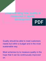 Understanding How Quality is Measured in Sports Development