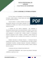 REFLEXÃO DA UFCD –  AUDITORIA E CONTROLO INTERNO
