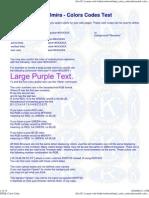 Color Codes HTML Aktionclub Elmira Background