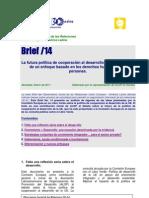 Brief14_Libro_Verde_CE_Cooperación_Ene2011
