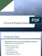 Pertemuan 6 Circuit & Paket Switching