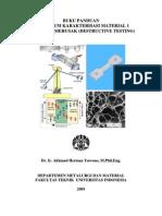 Buku Paduan Pratikum Metalurgi Dasar Material