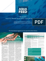 Maturation diets for shrimp – Is there alternative to natural food?