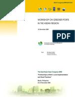 Proceedings of the Workshop on Greener Ports in the ASEAN Region