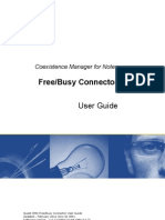Free Busy Connector User Guide 103