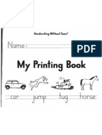 Handwriting Without TEARS Practice Book