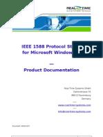 Rts Ieee1588-Ptp Windows Manual