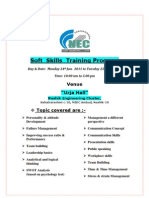 Soft Skills Training Program