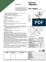 Panasonic FV 11VHL2_Spec 5505