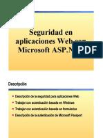 14.- Seguridad en Aplicaciones Web ASP