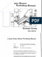 54093052 a Solar Water Heater Workshop Manual