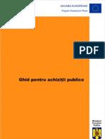 ghid achizitii publice