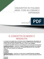 L'uso del congiuntivo in italiano e albanese - RUMANI - Copy