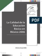 libro INEEE calidad de educación