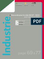 Raccords pour le vide ISO KF - ISO K   FG INOX