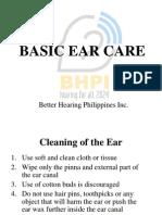 Ear Mopping
