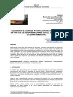 Acordos Internacionais Do Meio Ambiente