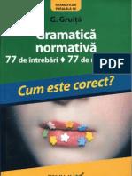 G Gruita - Gramatica Normativa - Ed IV-A - OCR