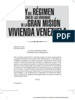 Ley de la Gran Misión Vivienda